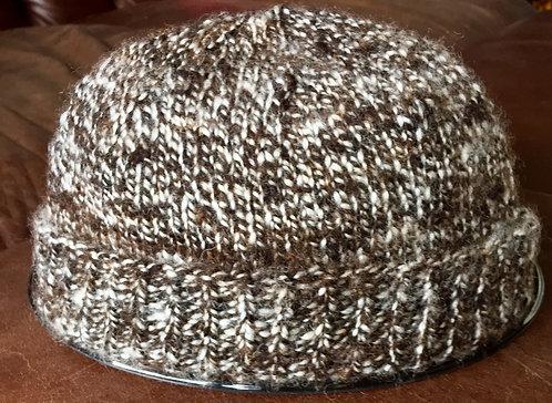 100% hand made woollen knitted beanie