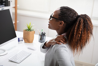 Is working from home giving you a pain in the neck, back, butt?