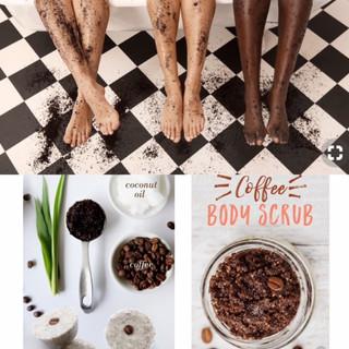Coffee Scrub & Bath Bombs