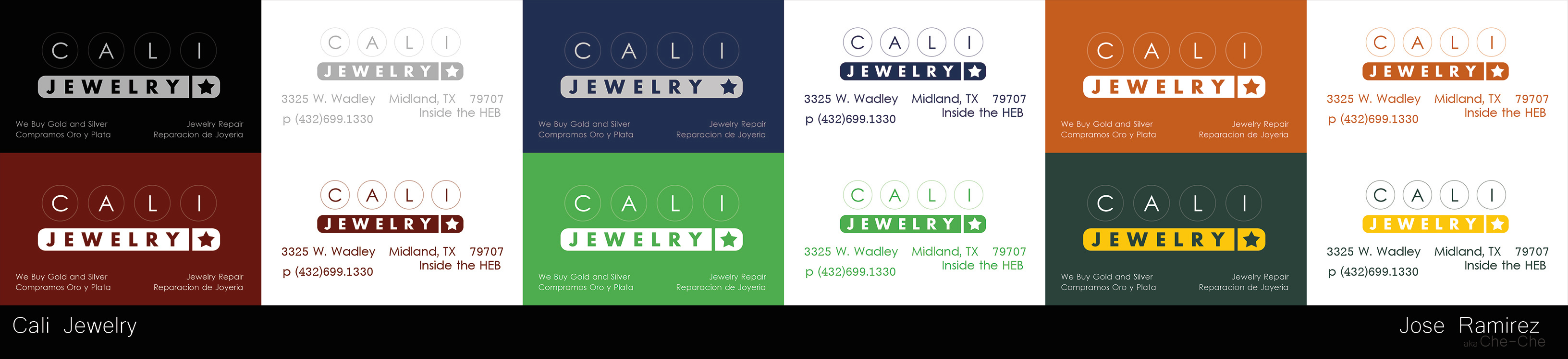 Cali Jewelry Business Card