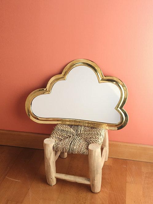 Miroir nuage doré Joséphine - taille M