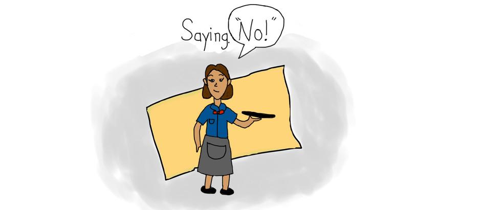 Saying No!