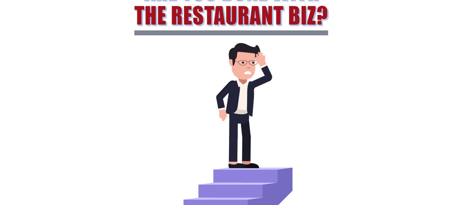 Are You Done With the Restaurant Biz?