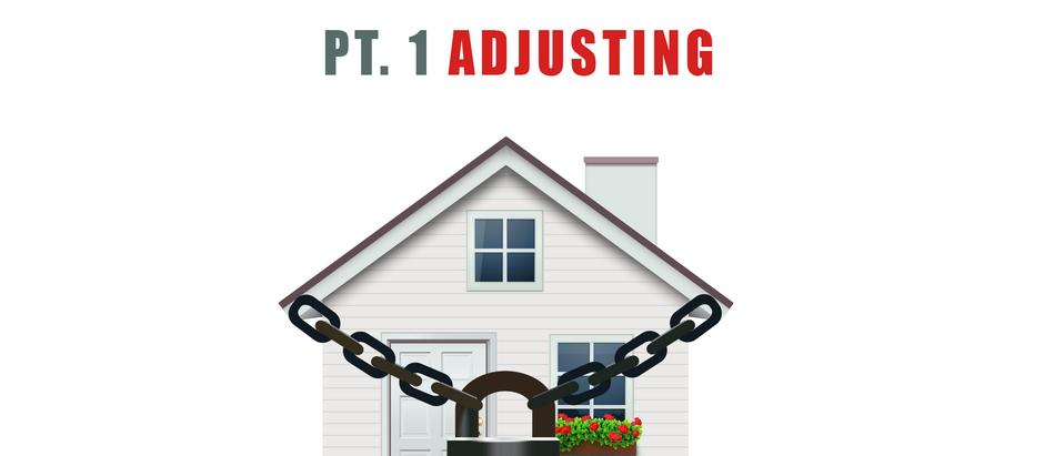 Quarantine Life Pt. 1. Adjusting