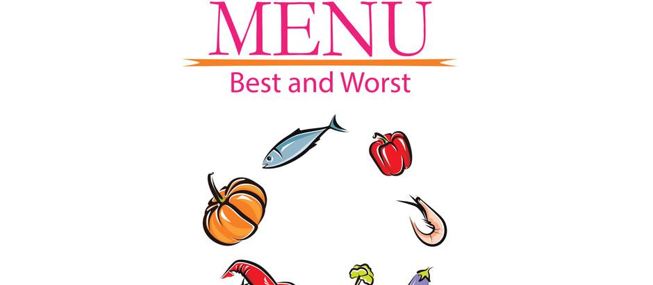 Restaurant Menu Best and Worst