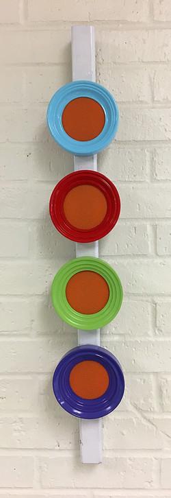 Orange According to Albers