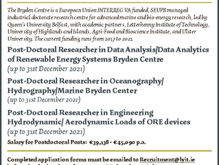Post Doctoral Researcher Positions Available