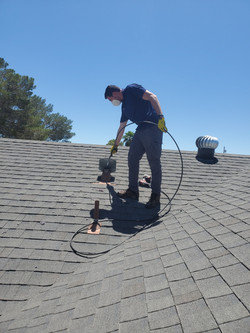 Dryer exhaust vent cleaning