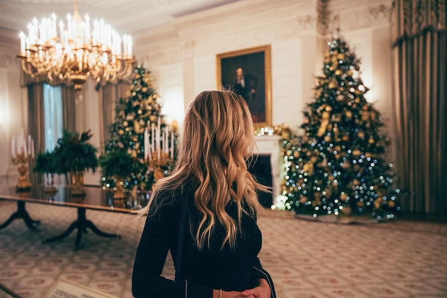 Decorações extravagantes do Natal