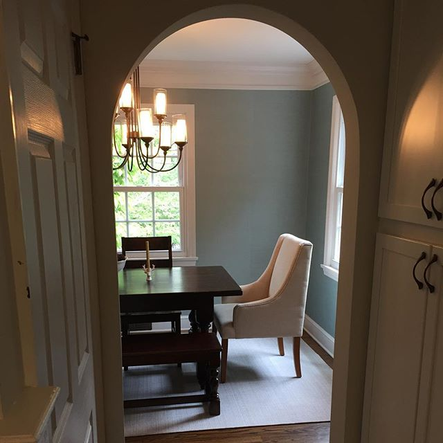 My soft, tone on tone dining room vision