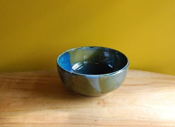 bowl - ocean glaze