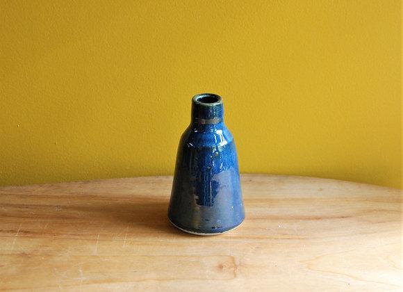 bottle vase - ocean glaze