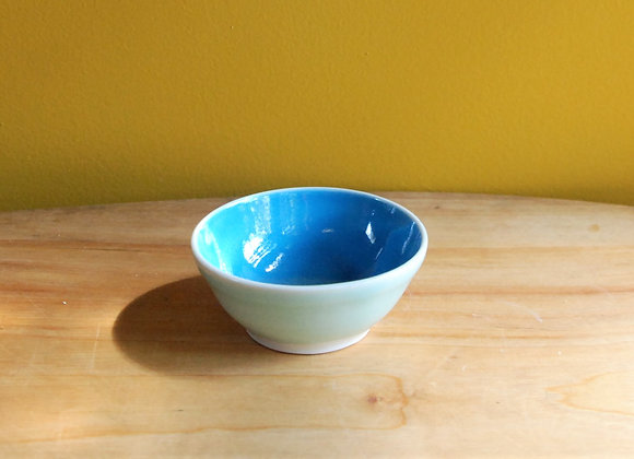 dipping bowl - turquoise