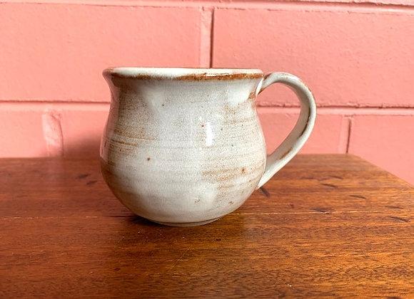 hearty sized mug - creamy brown