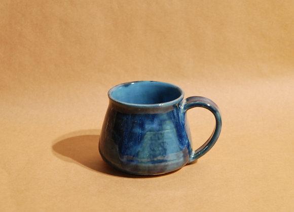 mug - ocean and turquoise glaze