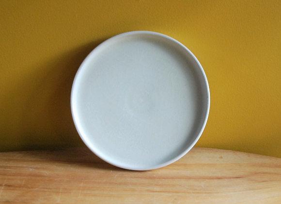 breakfast plate - white