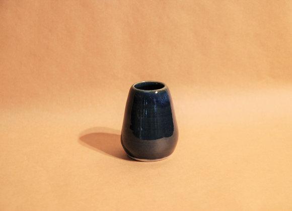 small vase - ocean glaze
