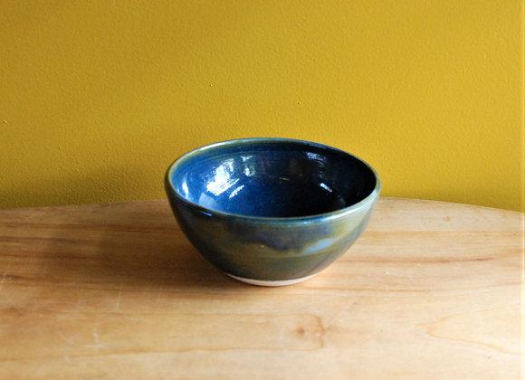 small bowl - ocean glaze
