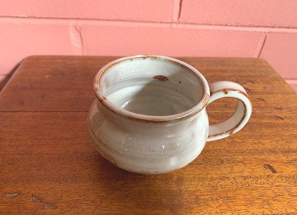 soup mug - creamy brown