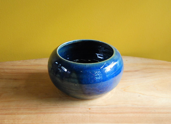 deep bowl / vase - ocean glaze