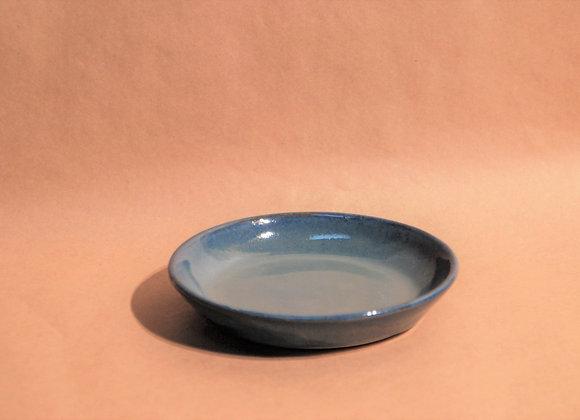 small plate - ocean glaze