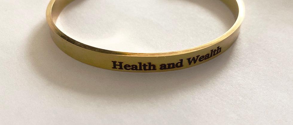 Health & Wealth Bracelet