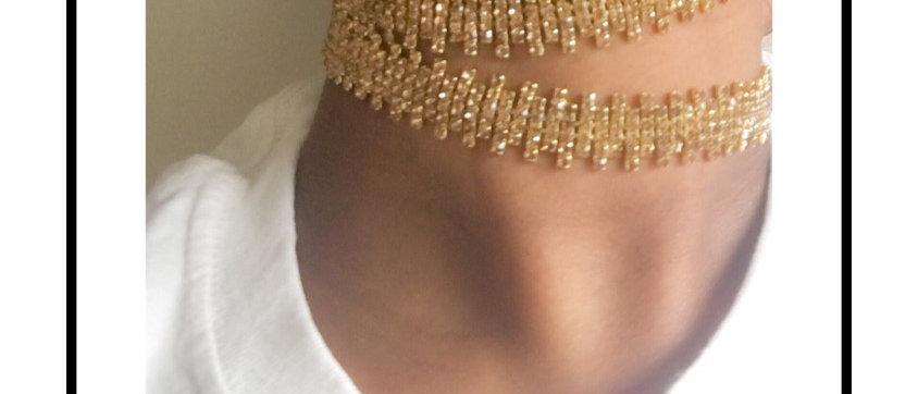 The Zip Choker-gold