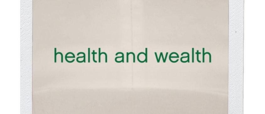 Health & Wealth hat-nature