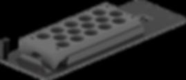 01-03004 Adapter Plate for Agilent  Rack