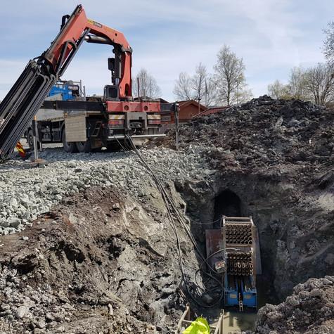 Utblokking av nye vannledninger