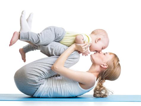 Yoga für Mama und Baby