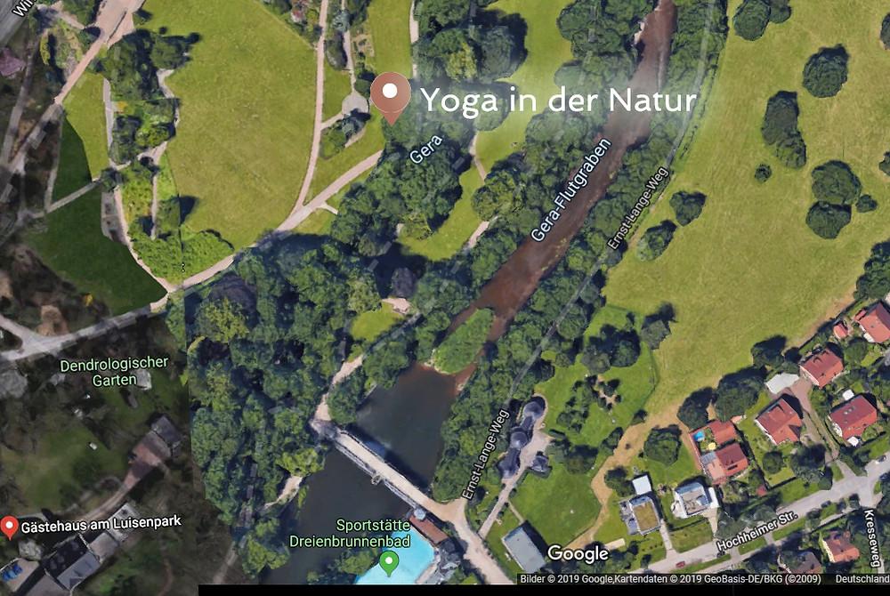 Yoga Natur, Wegbeschreibung