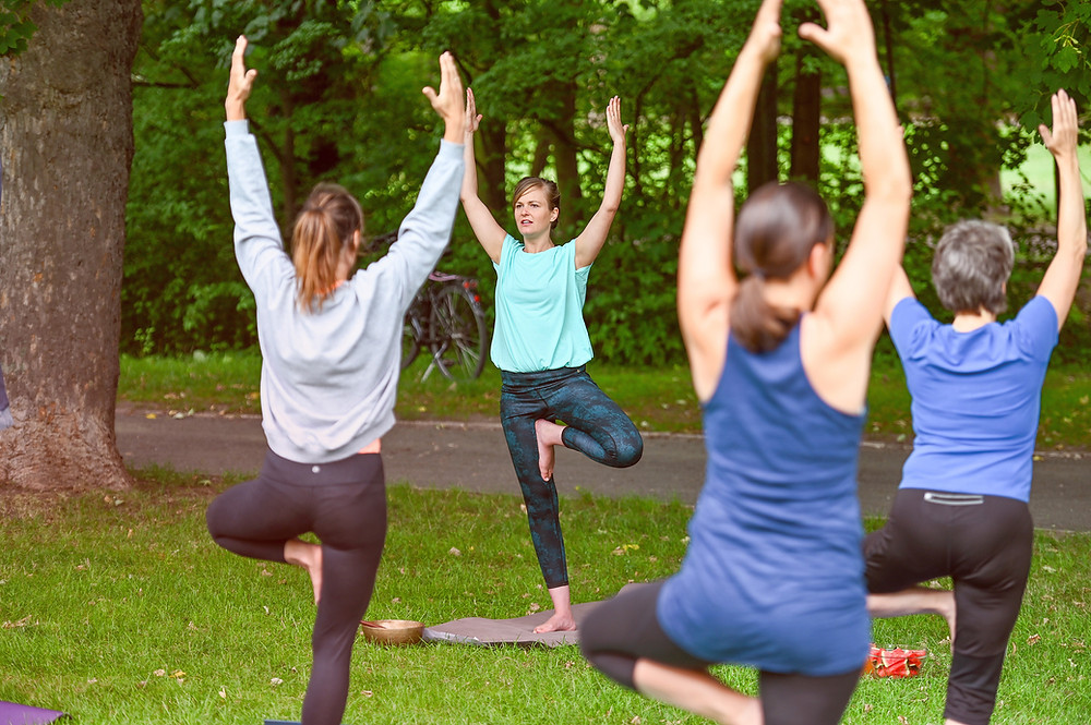 Yoga Natur