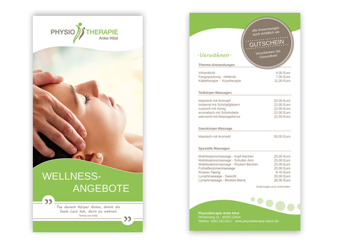 Wellness-Flyer