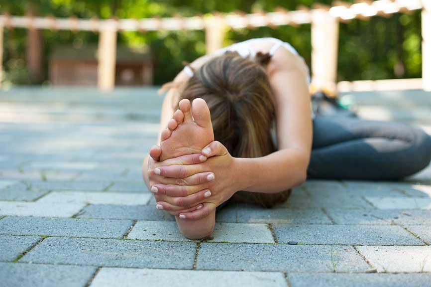 Yoga Dehnung