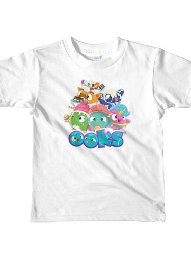OOKS Character T-shirt White
