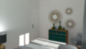 Après - Home Staging Virtuel Chambre Parentale