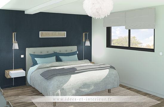 Projet Chambre Cocooning Bleu Nuit