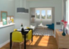 Après - Home Staging Virtuel Salon