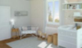 Après - Home Staging Virtuel Chambre Enfant