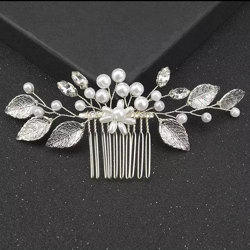 Pearl Bridal headcomb