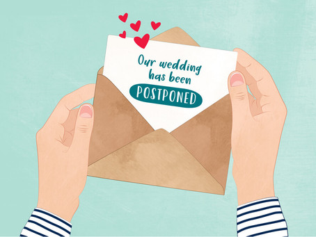 Sorry You Had To Postpone Your Wedding….Now What?