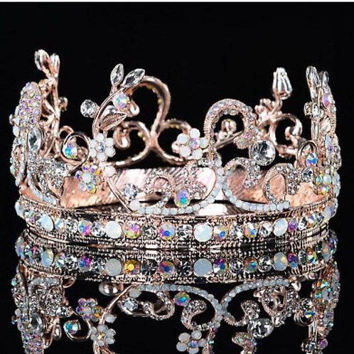 Victorian crystal tiaras