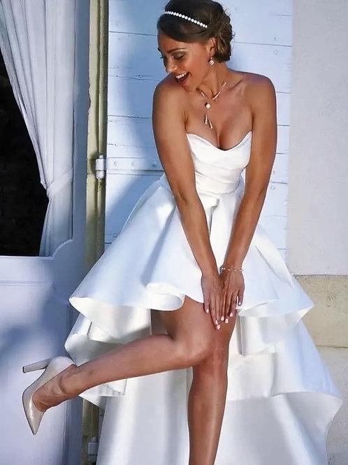 Classy Boho Court/Beach Wedding Dress