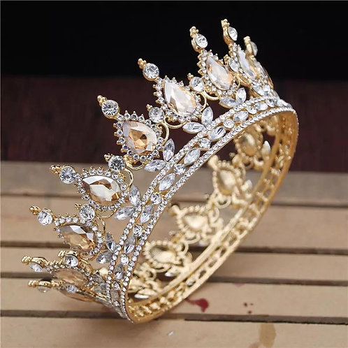 Royal Vintage Crystal Tiaras