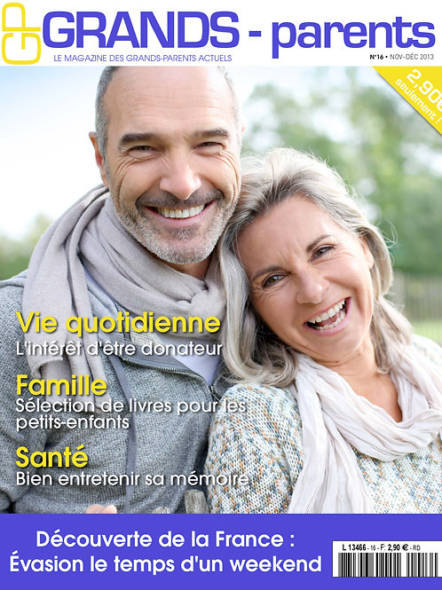 Grands-Parents Magazine Nº16
