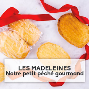 Les madeleines, notre petit péché gourmand
