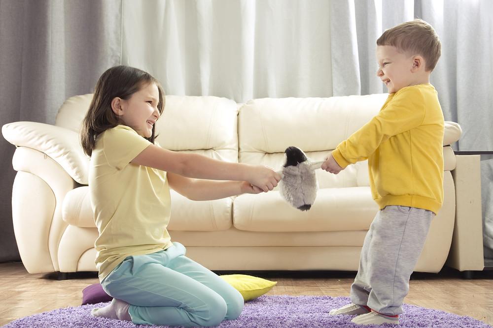Conflit entre petits-enfants