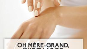 Oh Mère-Grand, que tu as de belles mains!