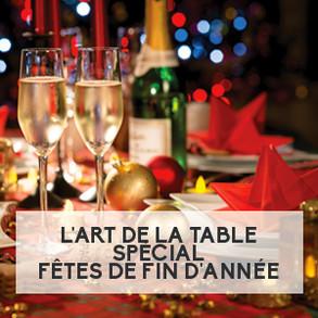 L'art de la table, spécial fêtes de fin d'année